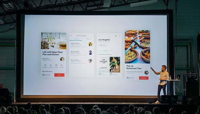 Digitale online Konferenz