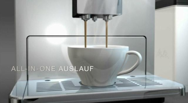 POS-Video für den Kaffeevollautomaten CAFFEO® CI® von Melitta®