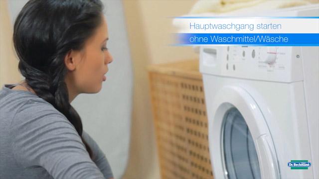 Produktfilm Waschmaschine Hygiene - Dr. Beckmann