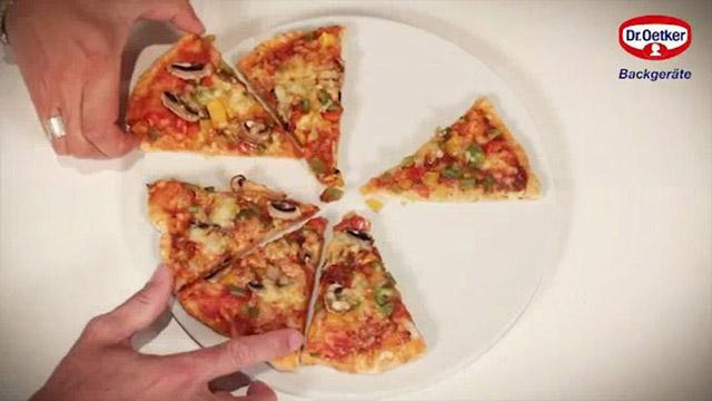Produktvideo für den Dr. Oetker Pizzastein von Leifheit