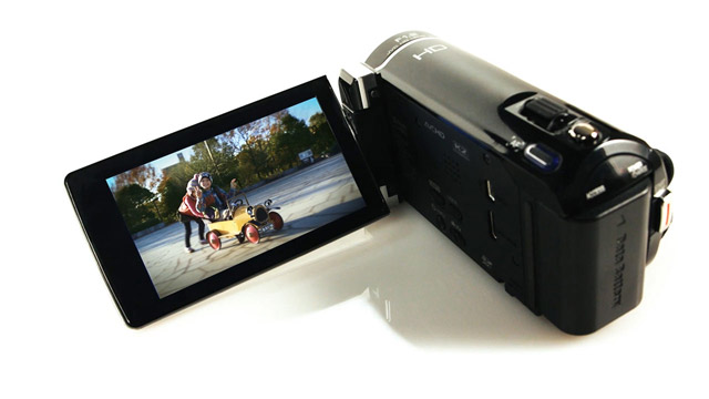 Produktvideo eines Camcorders für JVC