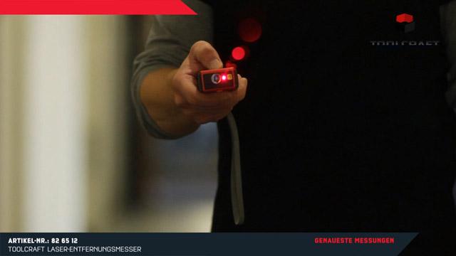 Toolcraft ldm laser entfernungsmesser messbereich max