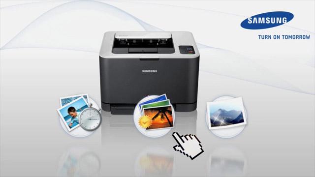 Produktvideo Polymer-Toner von Samsung