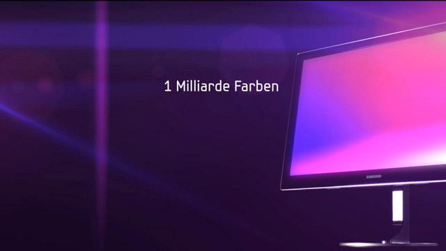 Produktvideo  des SyncMaster Serie 9 LED-Display für Samsung