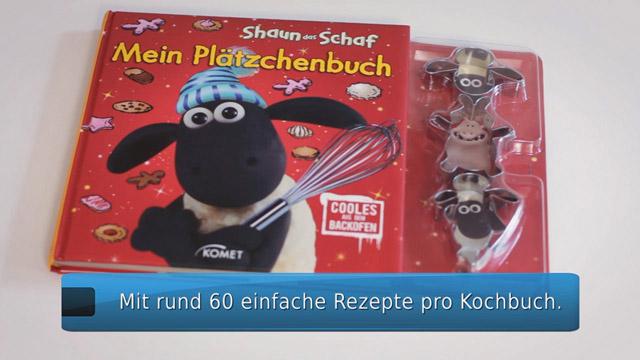 Produktvideo Kochbuchreihe Shaun Das Schaf Komet Verlag Produktfilm