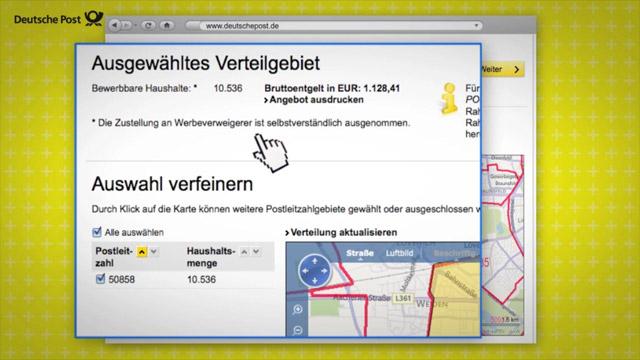 Schulungsvideo der Dialogmarketing ToolBox 14 für die Deutsche Post