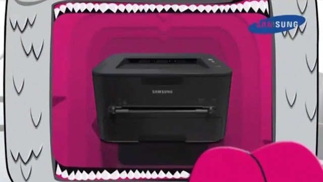 TV-Spot Pimp your Printer für Samsung