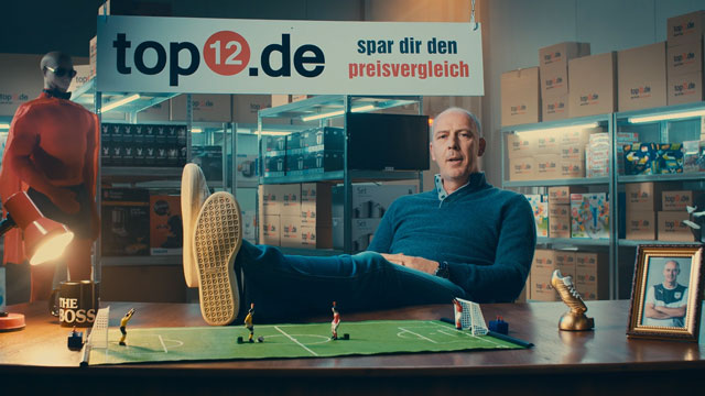 TV-Spot - Top12.de Mario Basler & Amazon